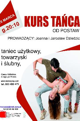 Taniec towarzyski - nowa grupa!